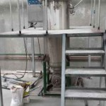 Pressure trim dyeing machine